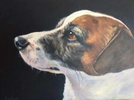 """Buddy""  Acrylic On Canvas"