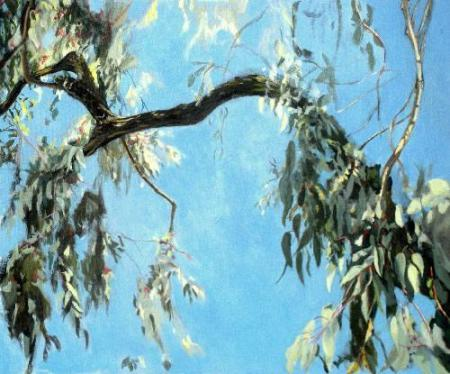 """Eucalyptus"" Acrylic on Canva"
